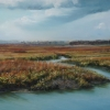"The Marshes II 13"" x 17"" (33 x 44 cm), pastel, $775"
