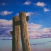 "Supports I 25"" x 37"" (64 x 95 cm), pastel"
